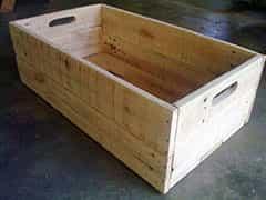 pallet caixa de feira