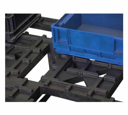 indústria de paletes plásticos