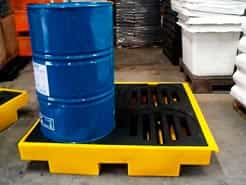 pallets de contenção para tambores