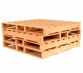 pallet de madeira reforçado