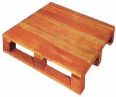 Pallets de madeira com tampa